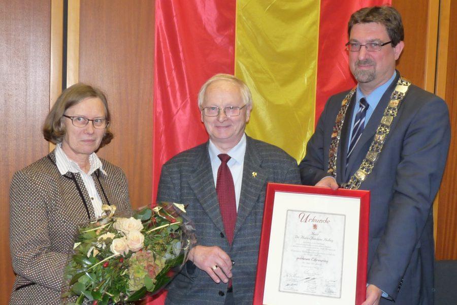 Ehrenringverleihung 2015