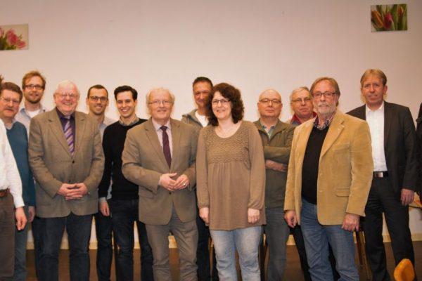 Vorstand Ortsverein H'rath-Mitte 2016
