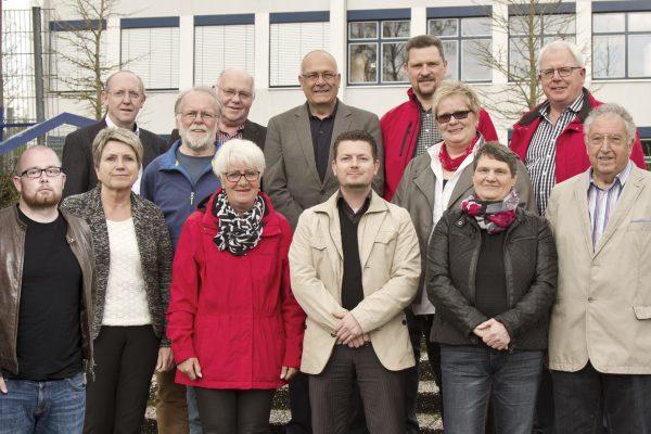Foto des neuen Vorstands in Kohlscheid