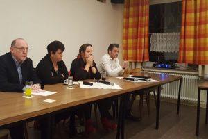 drei SPD Bewerber für die Bundestagskandidatur