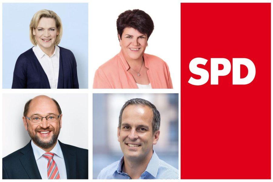 Collage mit Fotos der SPD Abgeordneten