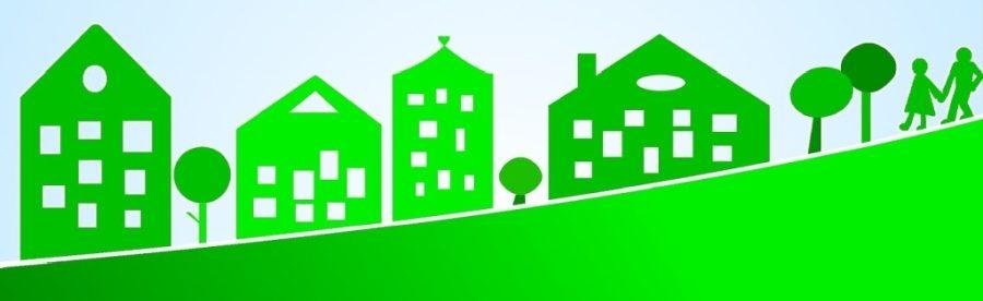 Symbolbild Umwelt, Bauen, Verkehr