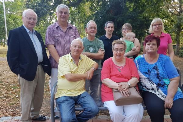 Mitglieder des SPD OV Merkstein
