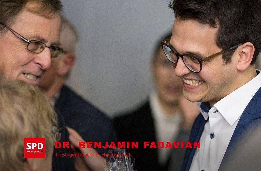 Screenshot der Internetseite von Benjamnin Fadavian