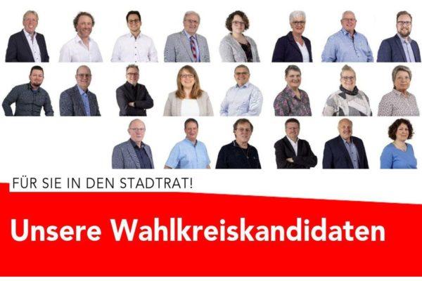 Grafik Unsere Wahlkreiskandidaten